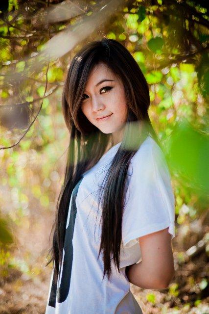 myanmar cute girl photo