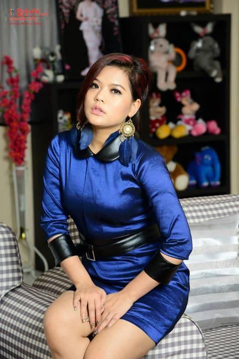 Sandi Myint Lwin   Myanmar Model Photos Videos Fashion Myanmar