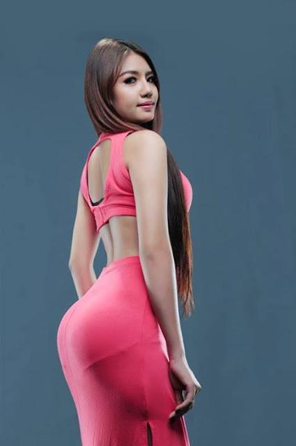 myanmar model pussy photo