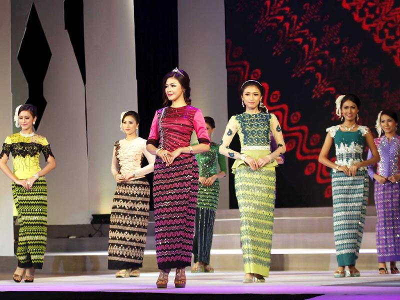 Myanmar Women S Traditional Culture And Dressing Style